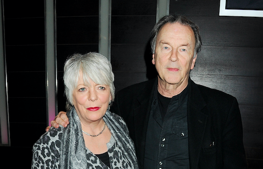 Alison Steadman (L) and Michael Elwyn attend an after party celebrating the press night performance of 'Absent Friends' at Mint Leaf restaurant on February 9, 2012 in London, England. (Photo by Dave M. Benett/Getty Images)