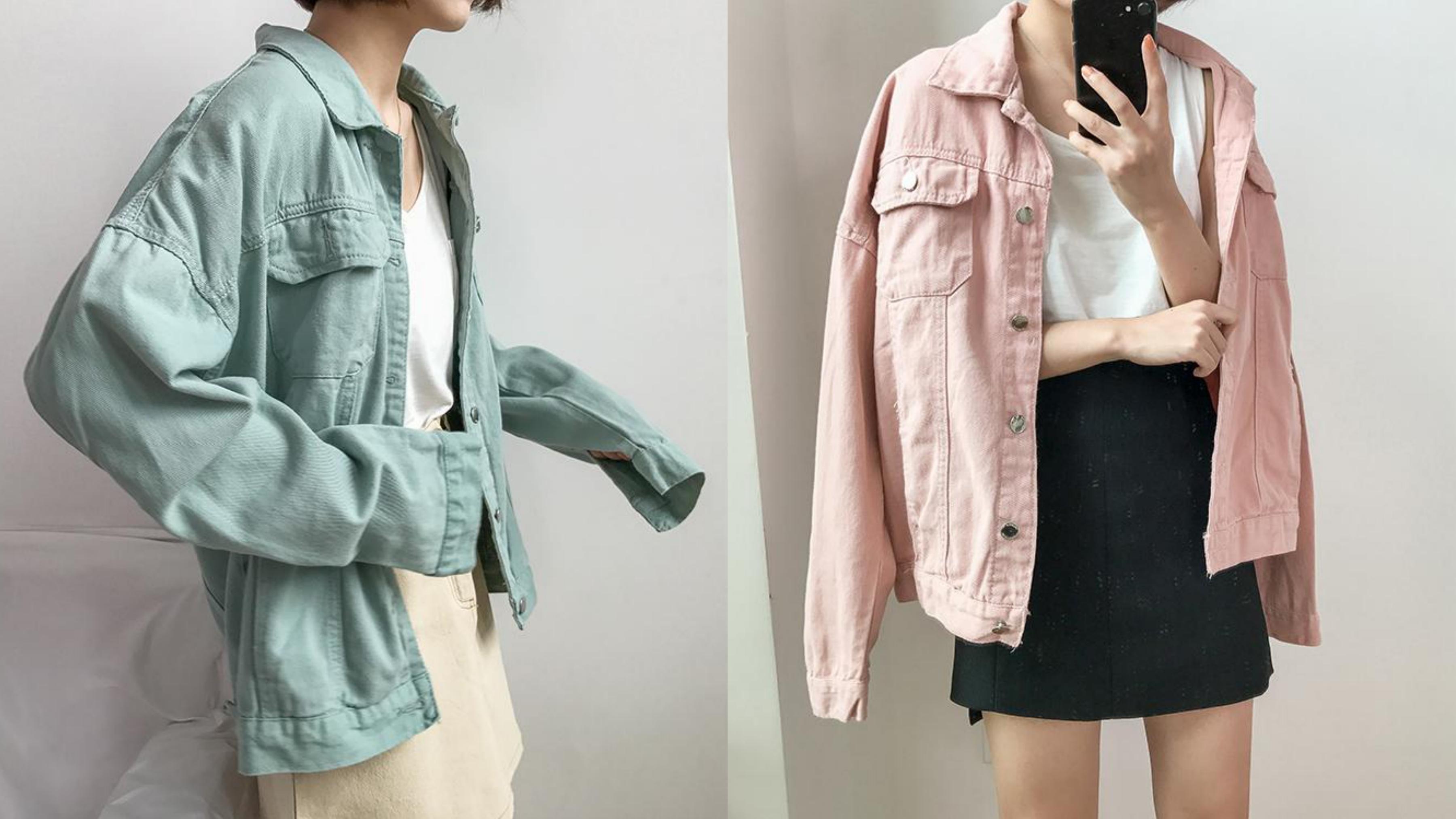 專屬春夏的馬卡龍色調,讓穿搭更增添一股甜美亮麗的氣息