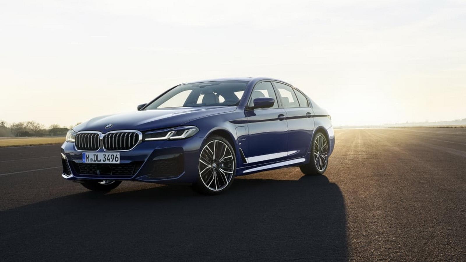 圖/2021 BMW 5系列亮相,PHEV車型可達到288匹馬力。