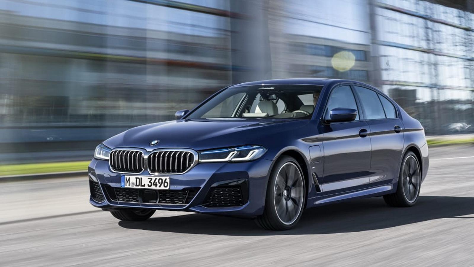 圖/BMW稍早時候公布最新5系列車型,除了外觀做了些微調整,也因應潮流提供多種動力車型。