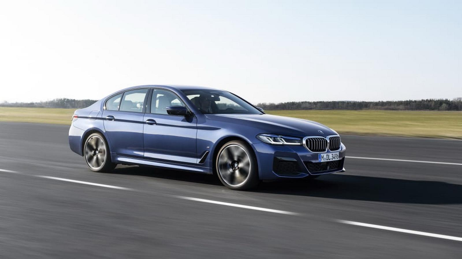 圖/2021 BMW 5系列採用48V輕度混合動力系統,能提高整體速度與性能,同時針對動力總成、車身與底盤避震器進行優化,以減少不必要的噪音與振動。