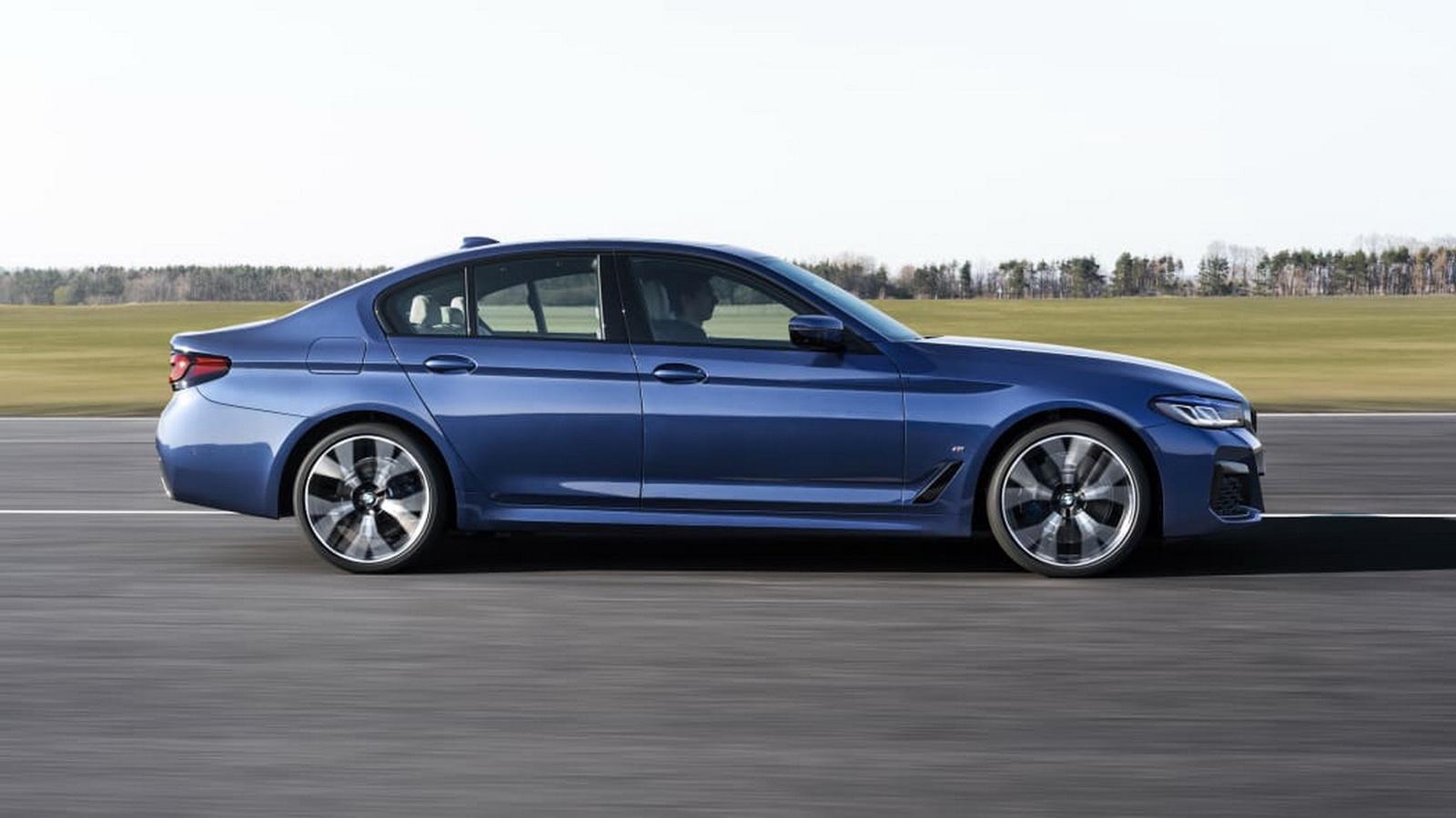 圖/雖然乍看之下看不出來,但2021 BMW 5系列外觀細節變化,使得車長比前代增加超過一英寸。