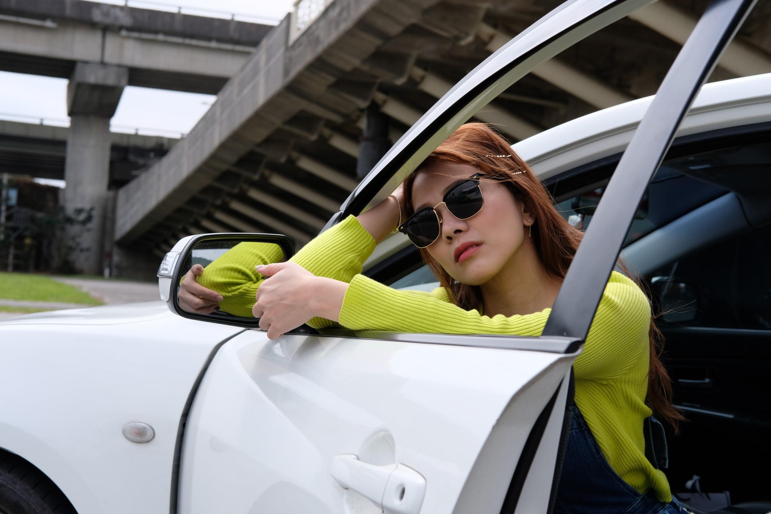 ▲小優注重車內整潔,前座沒有多餘的裝飾品,更討厭乘客在車內抽菸,連喝飲料都要特別注意。