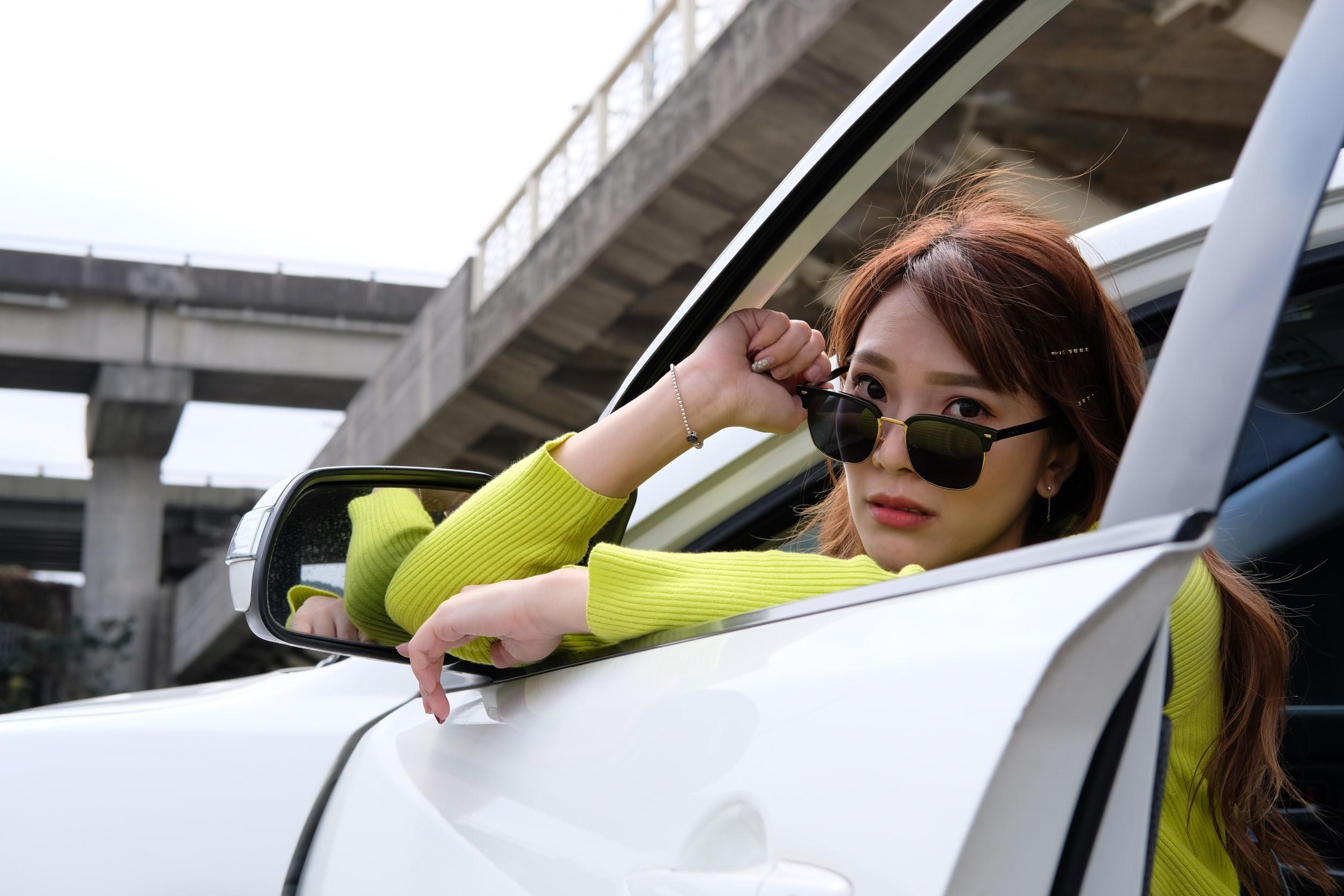 ▲有了車之後,小優常常遇到有人要搭便車,個性和善的她,不太拒絕,卻很討厭明明不順路還要搭便車的人。