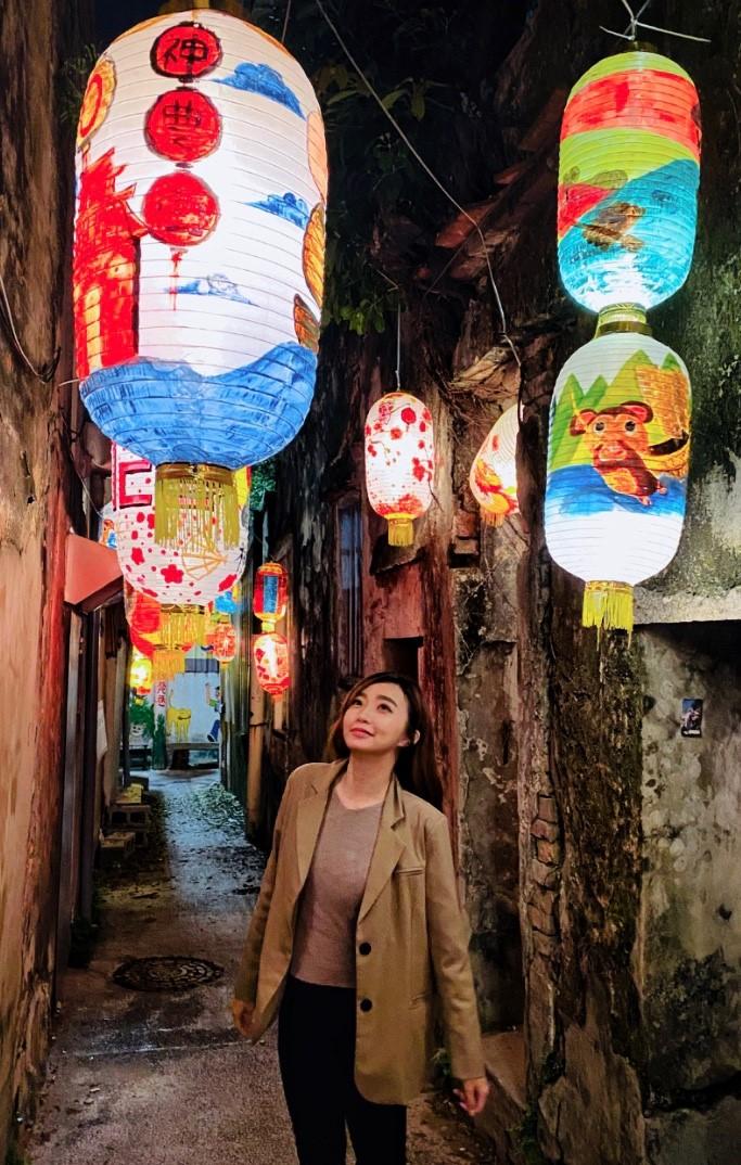 ▲隱藏在台南市區的古色古香老街,現代與懷舊的創新結合。