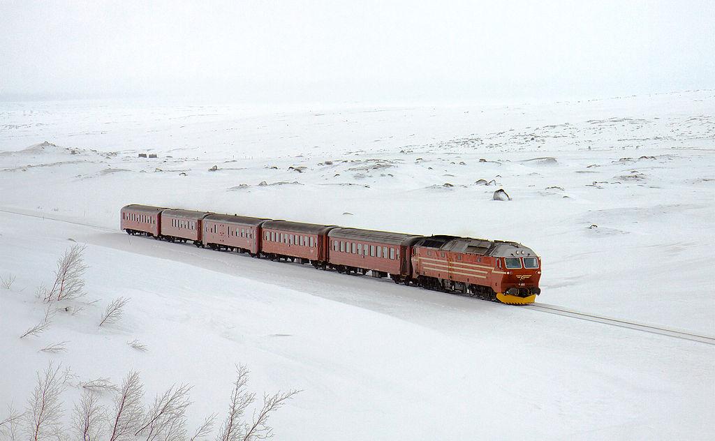 諾爾蘭線 (Photo by David Gubler, License: GFDL, 圖片來源bahnbilder.ch/picture/3352)