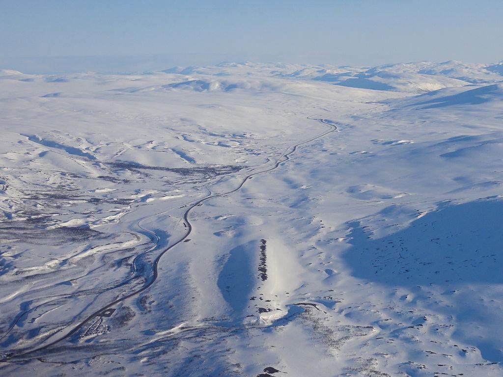 諾爾蘭線 (Photo by Øyvind Rask, License: CC BY-SA 4.0, Wikimedia Commons提供)