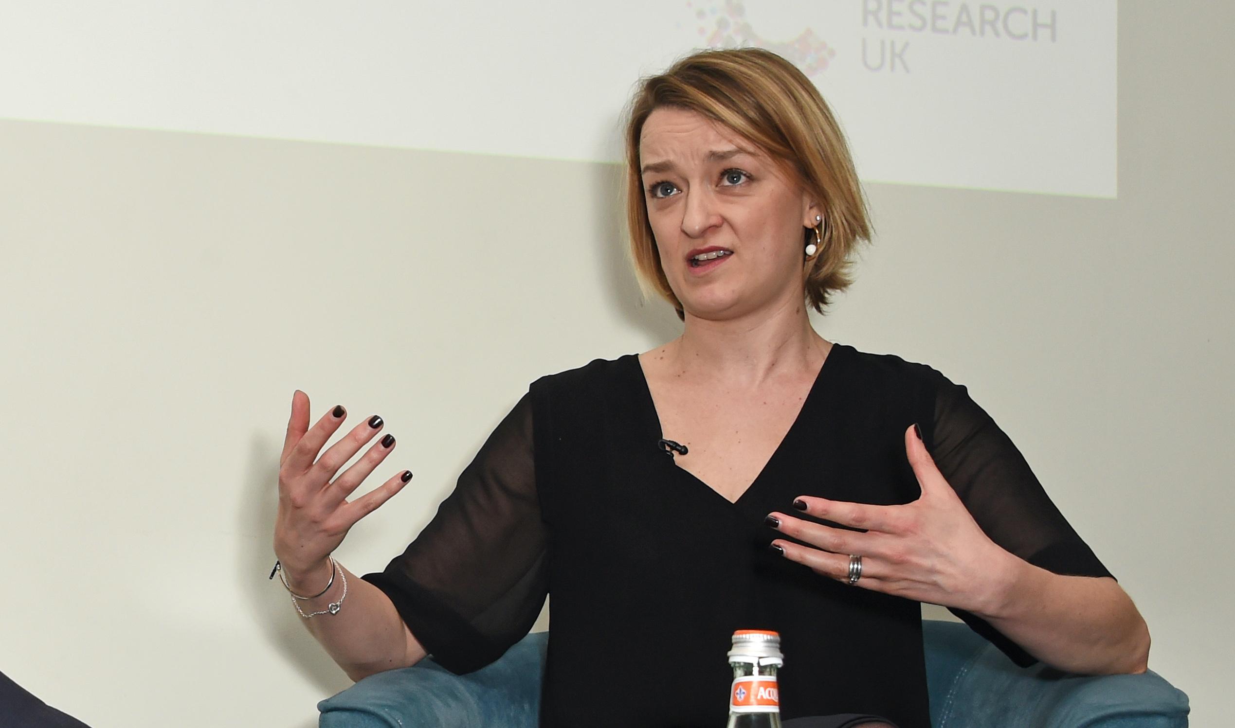 Laura Kuennsberg was accused of defending Dominic Cummings. (Dave Benett/Getty Images)
