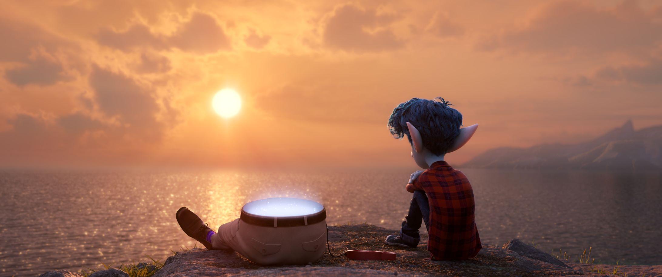 《1/2 的魔法》故事取材於導演丹史坎隆的真人真事。(迪士尼提供)