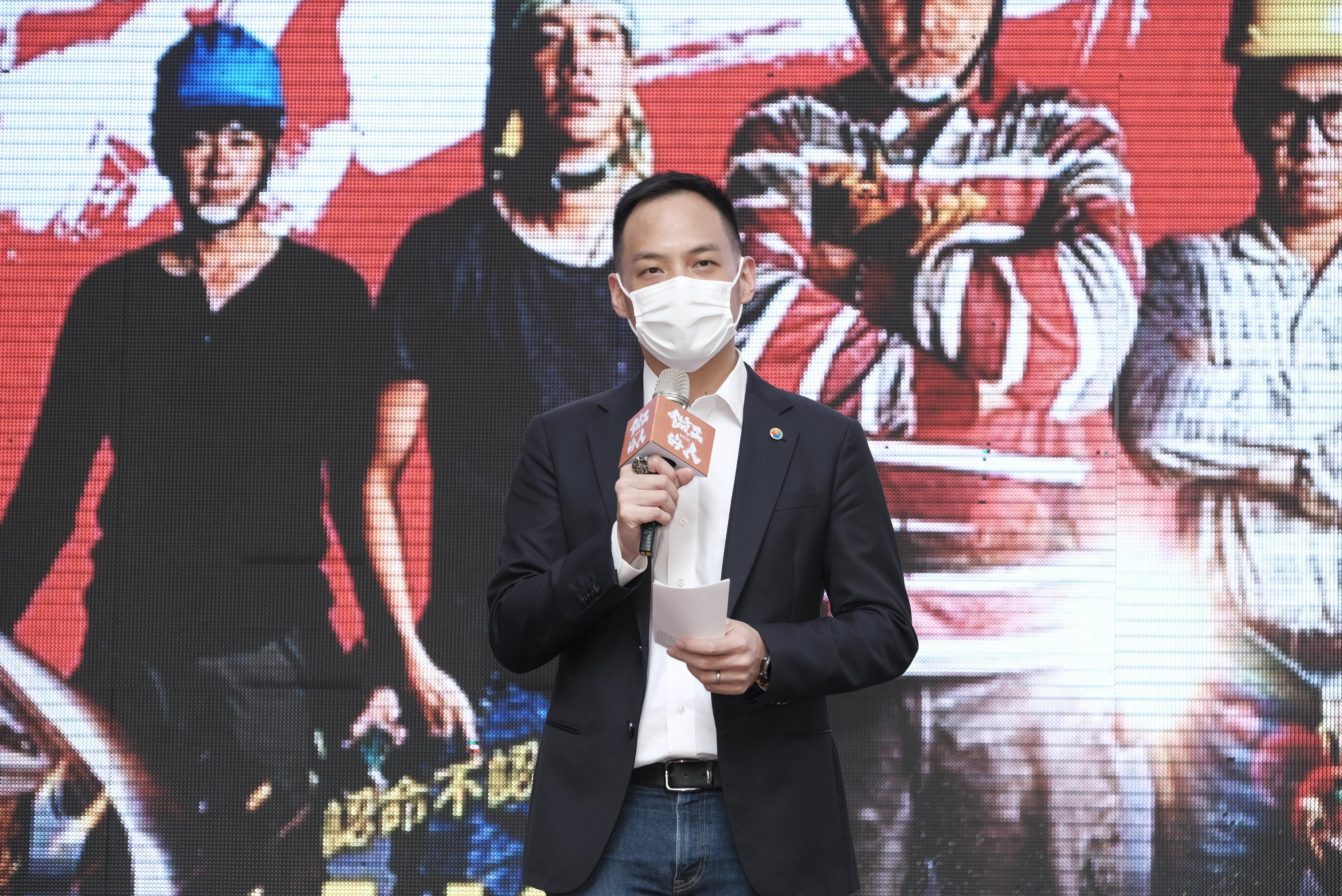 《做工的人》台灣大哥大總經理林之晨出席首播記者會_大慕影藝提供