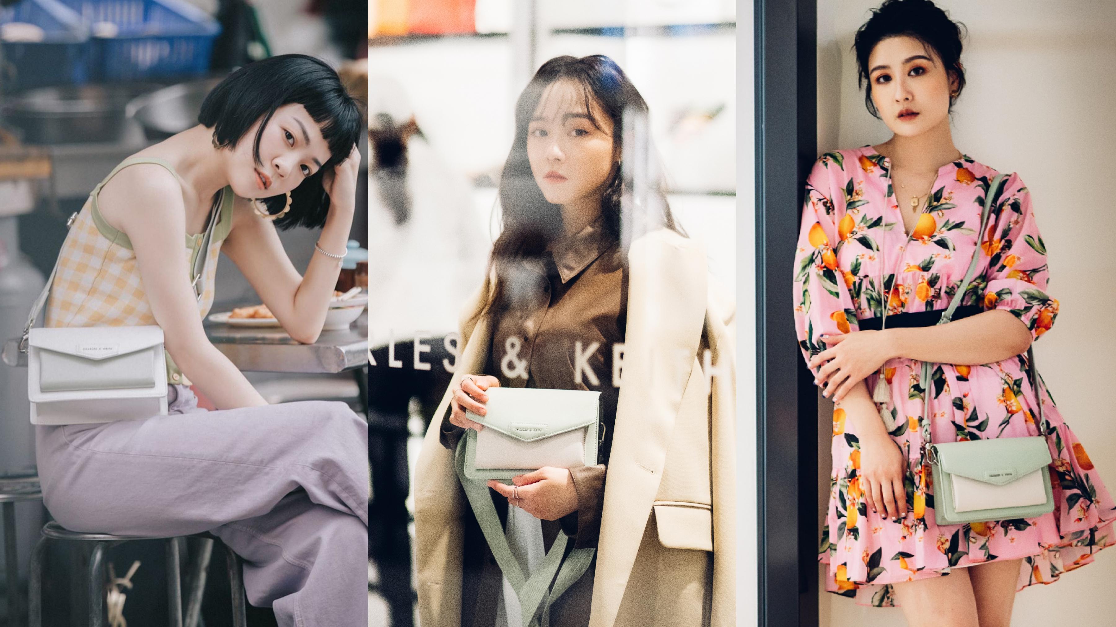 時尚達人陳艾熙、Meg、Mika紛紛背上此包款,演繹出風格獨具的造型