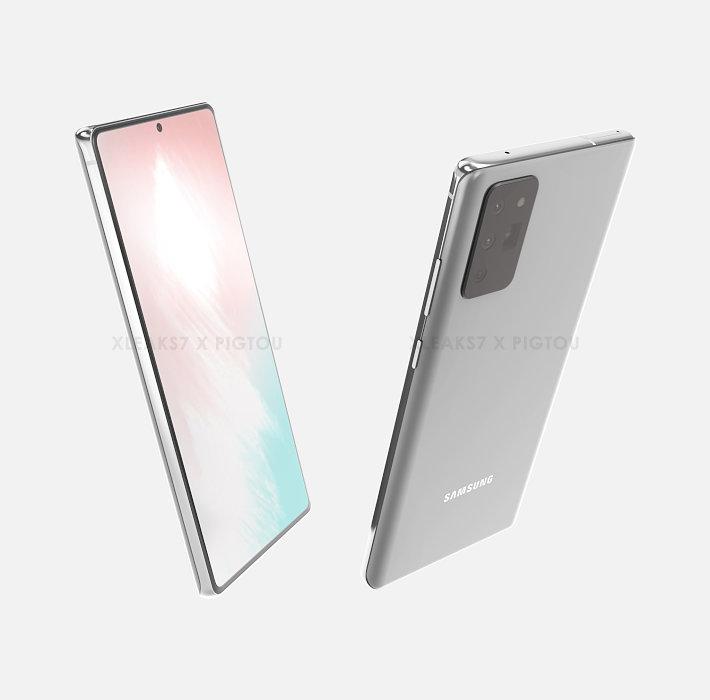 Galaxy Note 20予測CG