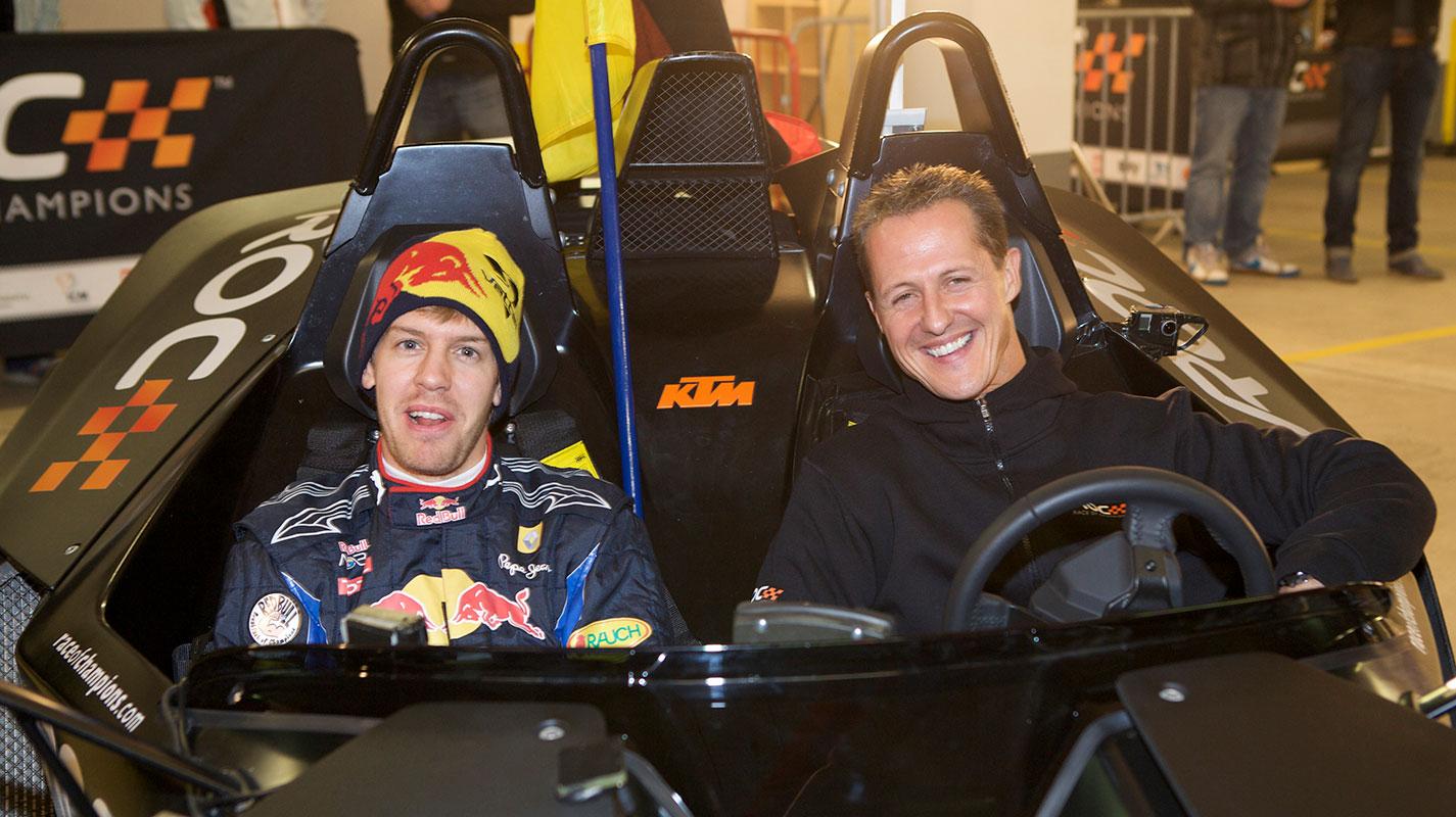 Vettel與Schumacher的不同在於Ferrari是否團結一致