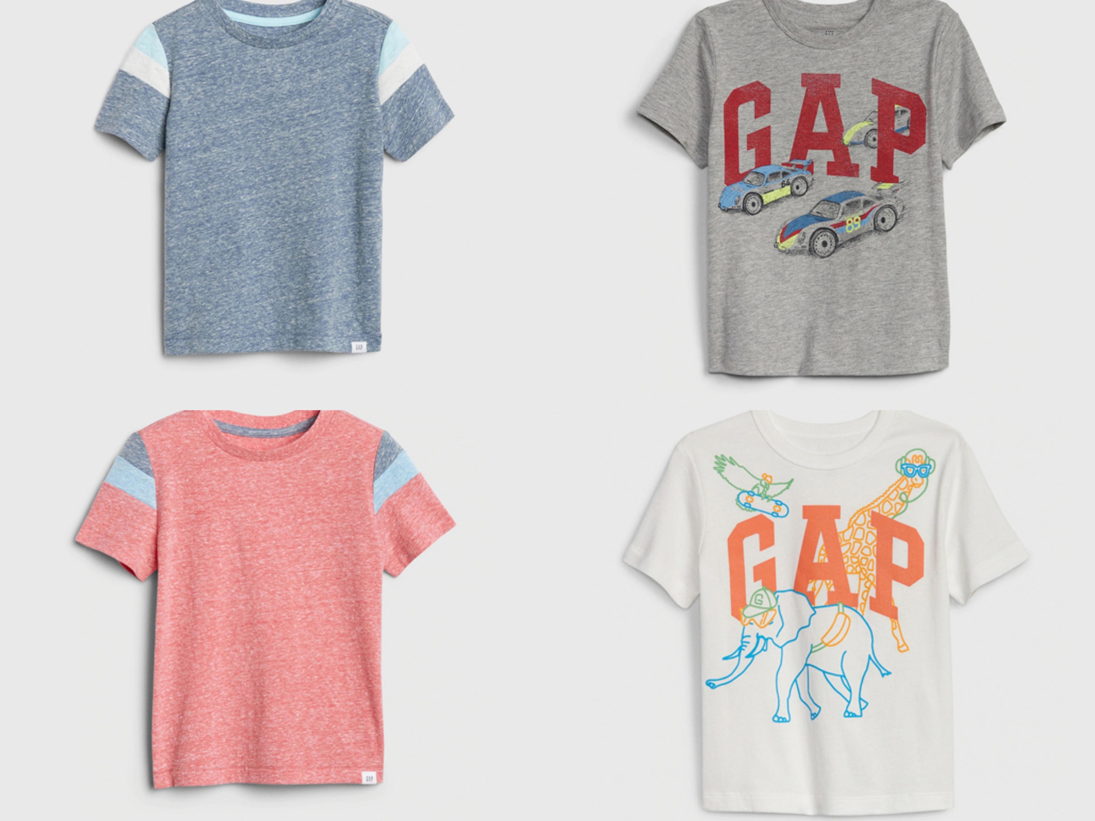 活動力特強的小男孩,真的需要不只一件的棉質T恤