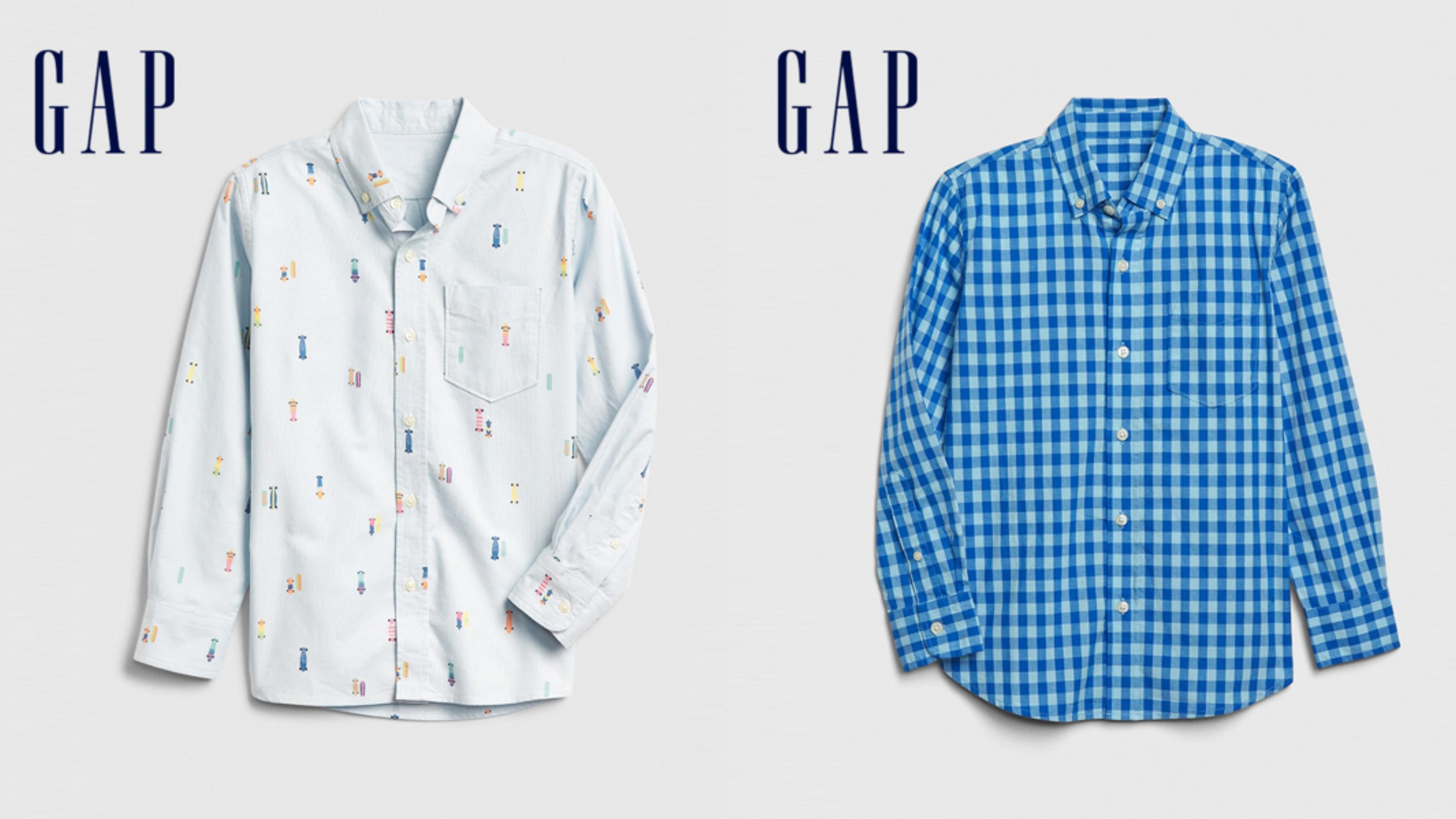 穿上俐落有型的襯衫,搭配長褲或牛仔褲可以打造小型男的潮流感