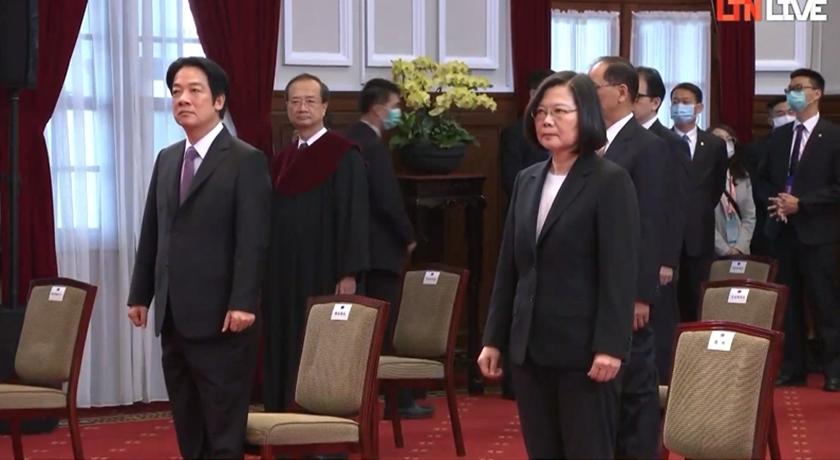 520總統、副總統就職典禮,兩位皆以大家習慣的造型現身。
