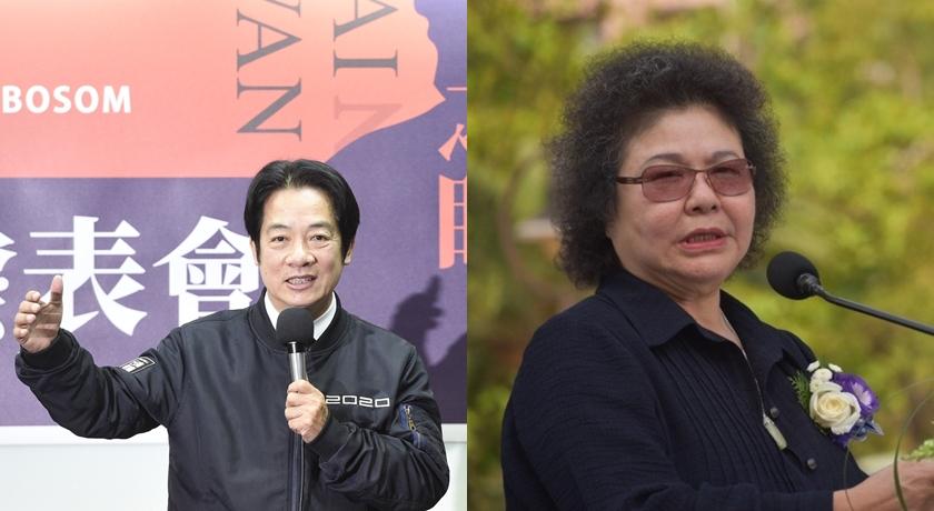 副總統賴清德、花媽陳菊,也是多年不改髮型。