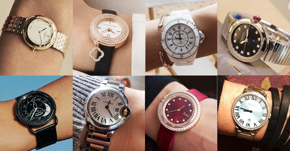 選一只合襯你30歲氣質的名牌錶,不僅會讓你顯得你成熟穩重,更能彰顯出你的自信及品味。