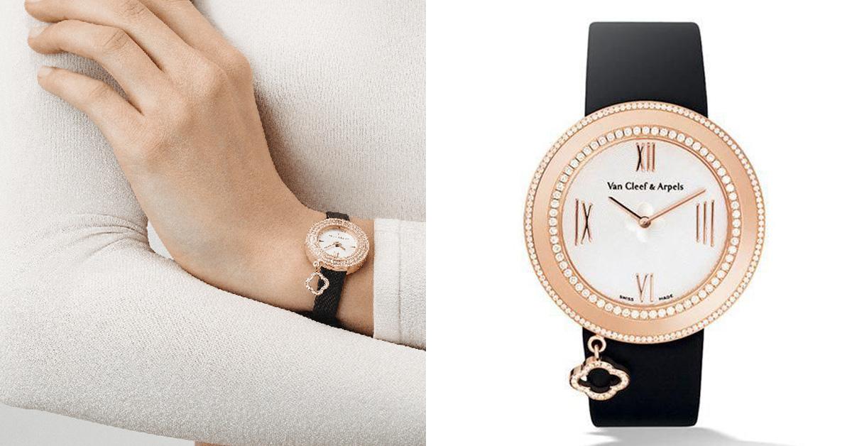 就如同幸運四葉草為梵克雅寶所帶來的象徵意義,在不同系列的珠寶或腕錶上都能見其蹤。