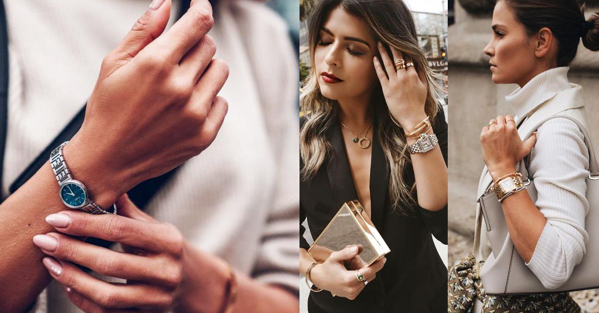 除了常見的鞋包或日常所用之物外,擁有一只好錶也相當必要。