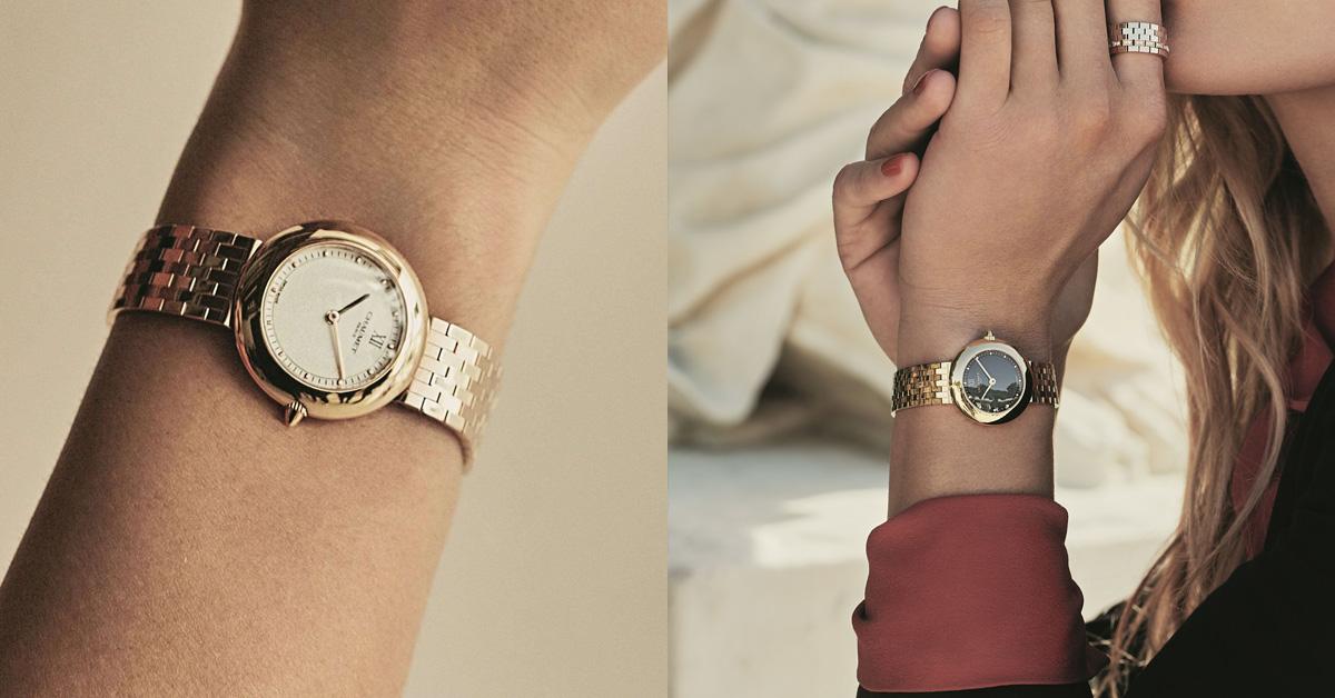 如同舞蹈的優雅姿態與和諧感,披著金色外衣的「Boléro」系列腕錶,是Chaumet為時代女性所設計的全新錶款。