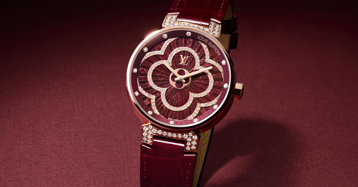 作為LV經典「Tambour」錶款延伸而出的「Tambour Moon Divine」,則以女錶市場為大宗