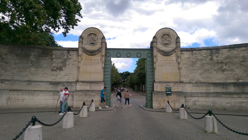 拉雪茲神父公墓正門(圖片來源:李珮宇)