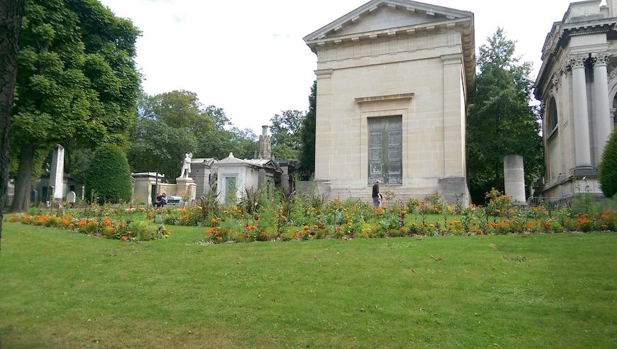 墓園一隅(圖片來源:李珮宇)