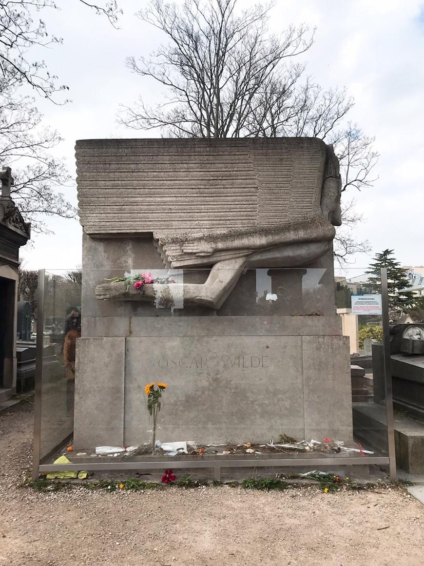 王爾德之墓(圖片來源:李珮宇)