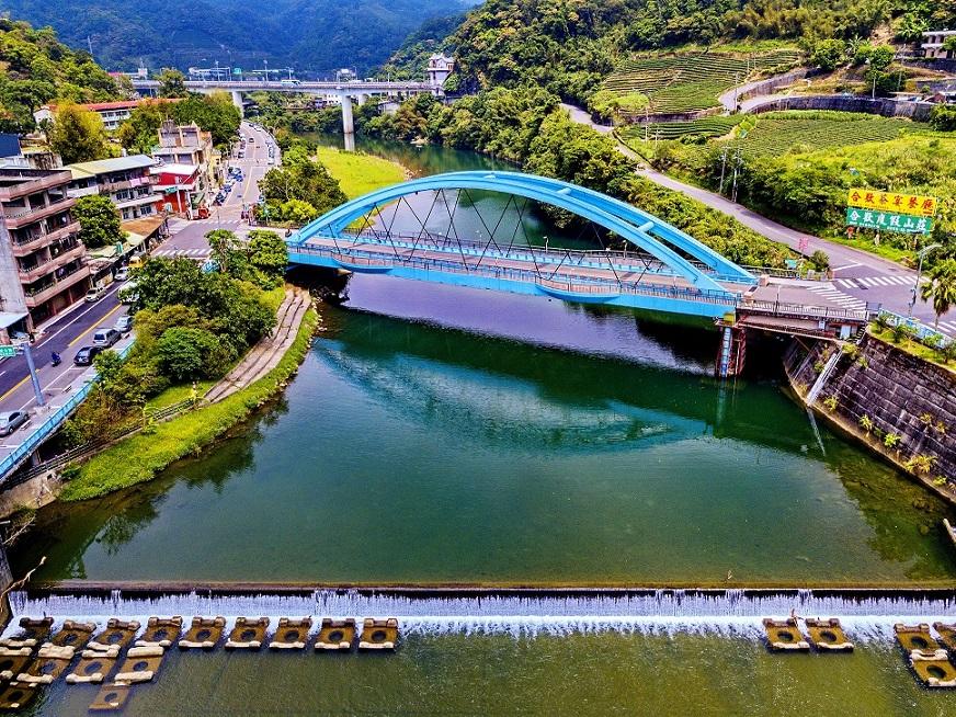 坪林山水拱橋美景(圖片來源:坪林區公所)