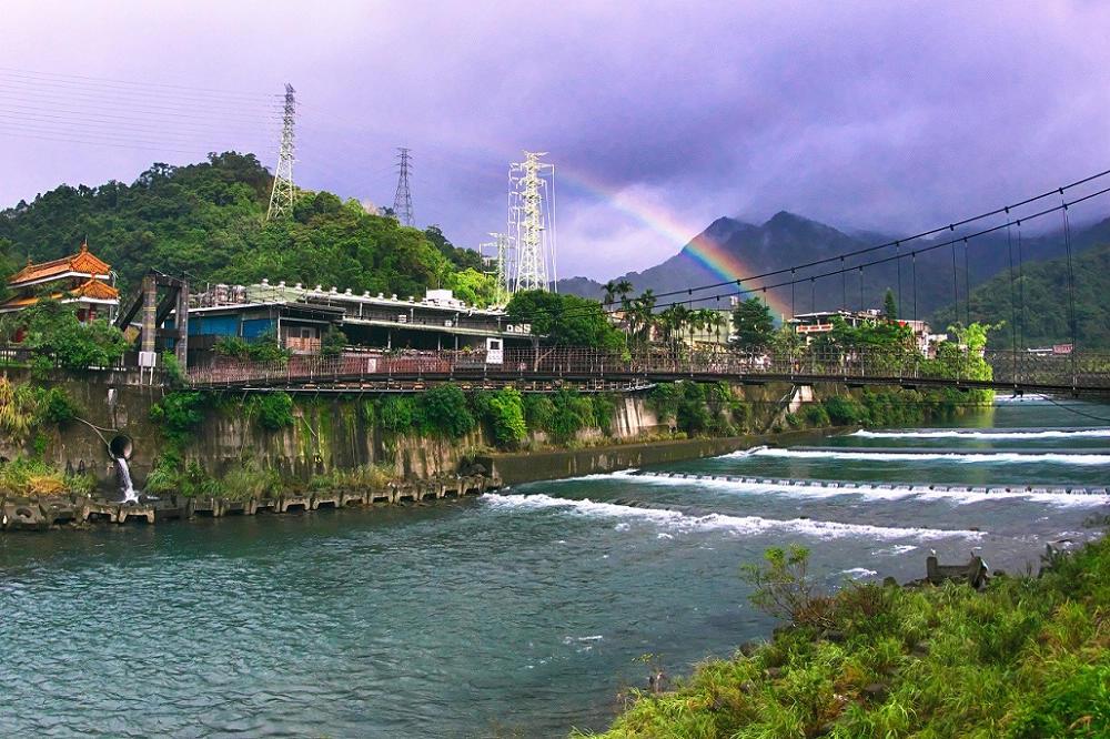 坪林親水吊橋漫遊觀魚步道(圖片來源:坪林區公所)