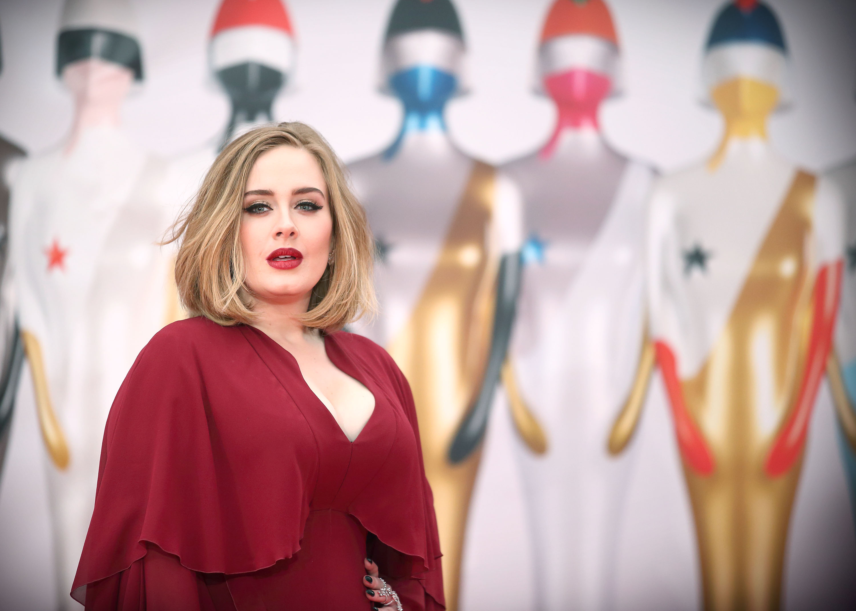 Adele hasn't posted much on social media. (Getty Images)