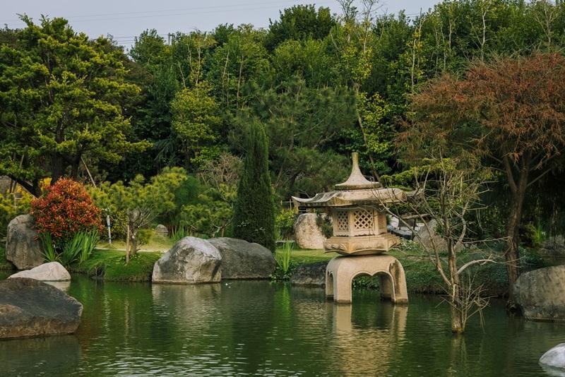 日式庭園造景風雅富有禪意。攝影/Ray
