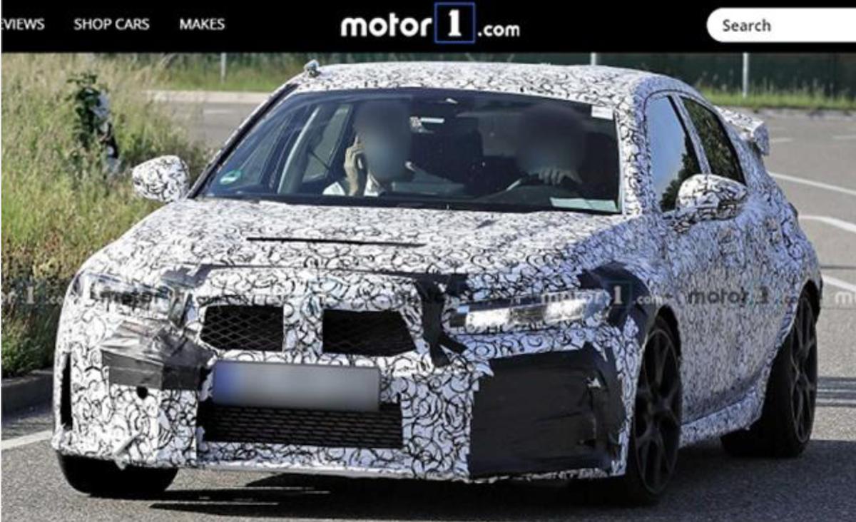 從大改款 Type-R 測試車現身,可預先掌握 11 代 Civic 標準版設計走向。