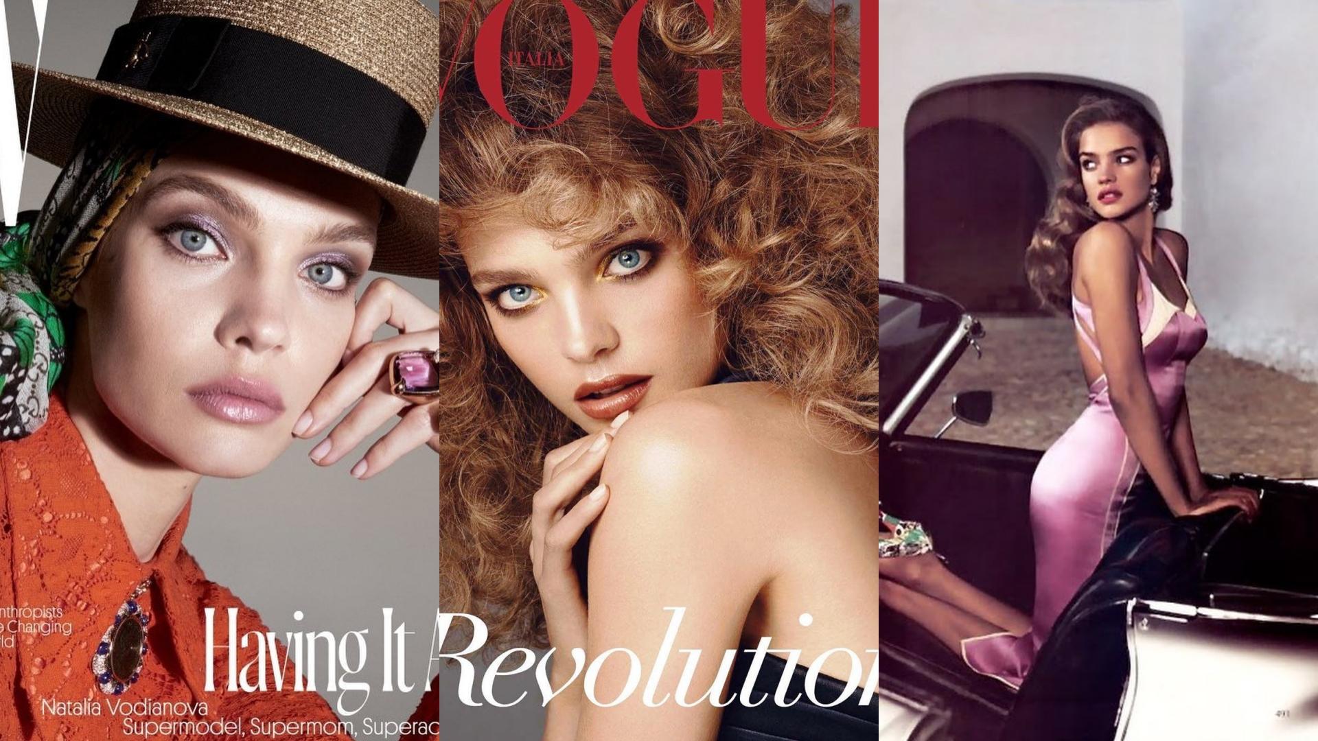 登上各大雜誌封面,更是許多品牌欽點的代言人!