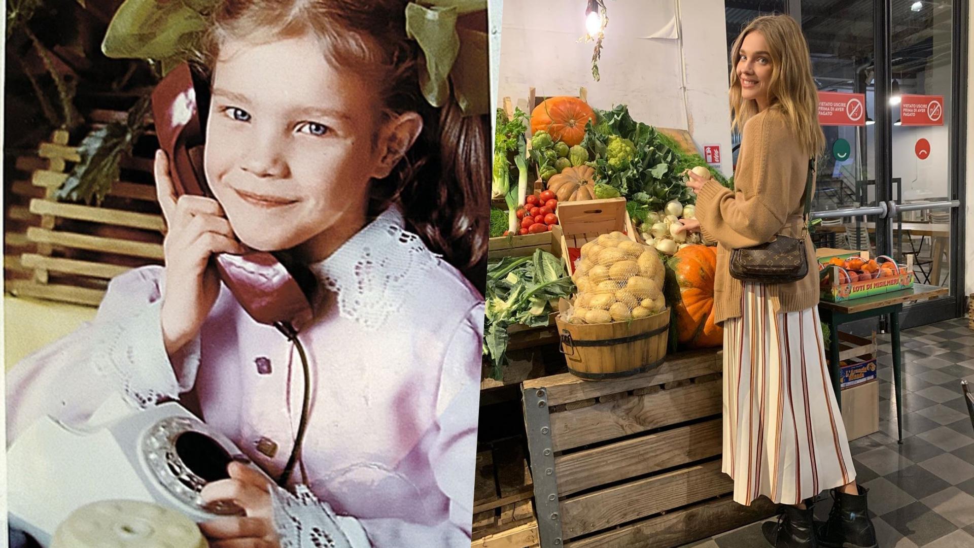 家境清寒的她曾靠著幫媽媽賣水果維生。