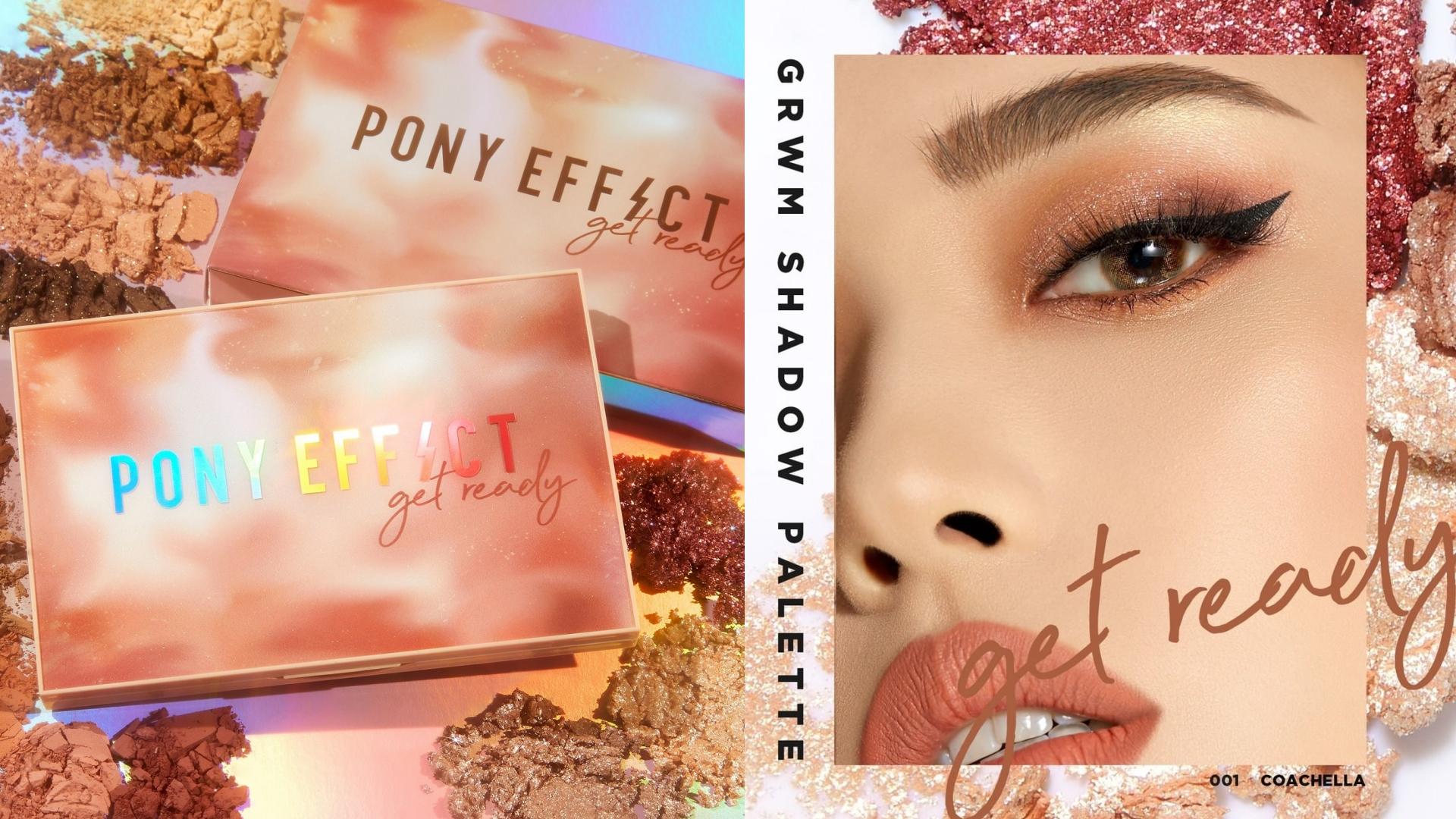 PONY EFFECT韓妞12色狂歡眼影盤