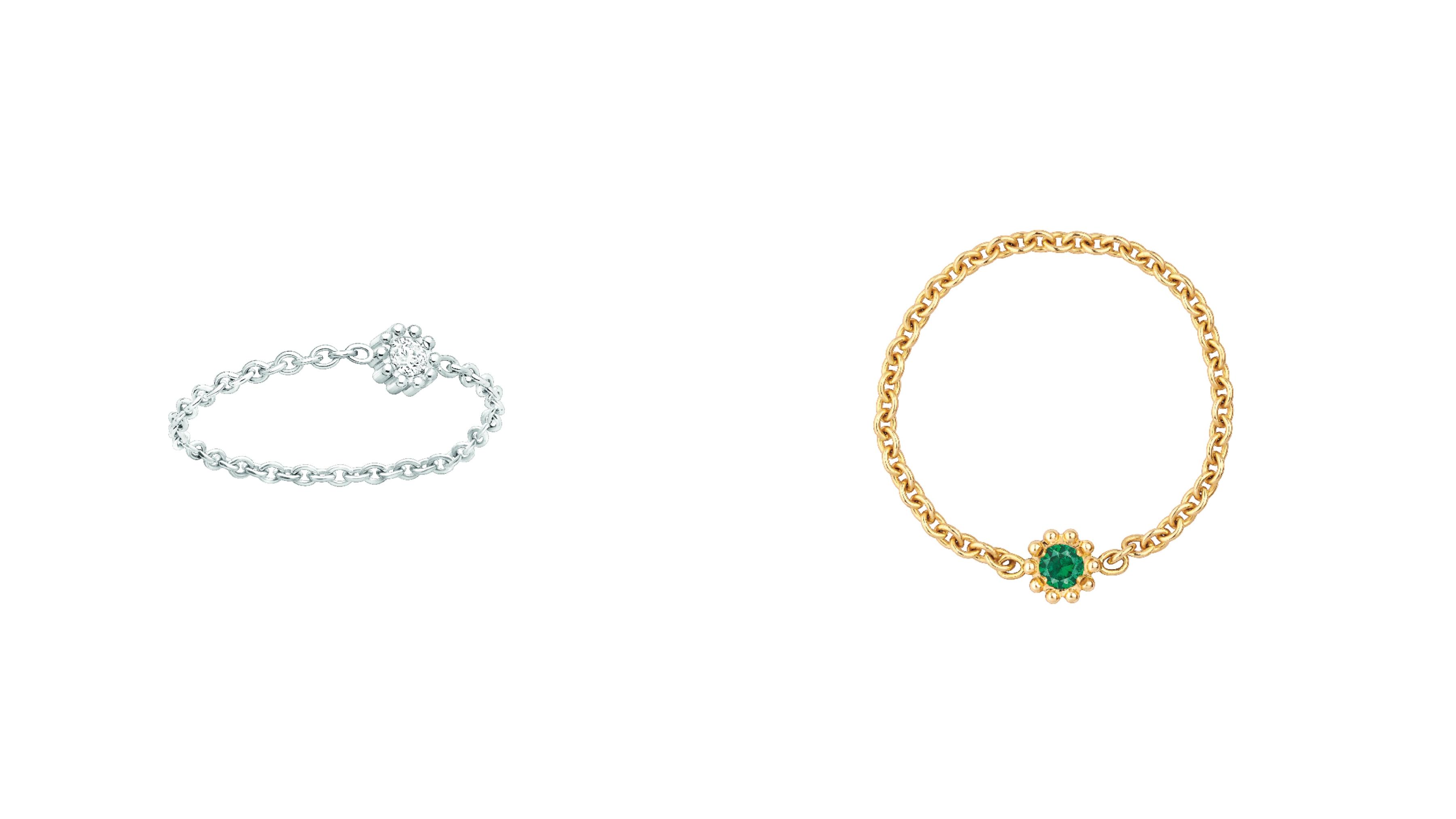 這系列為dior超微型珠寶的代表,Victoire de Castellane在Dior珠寶20周年之際的全新作品