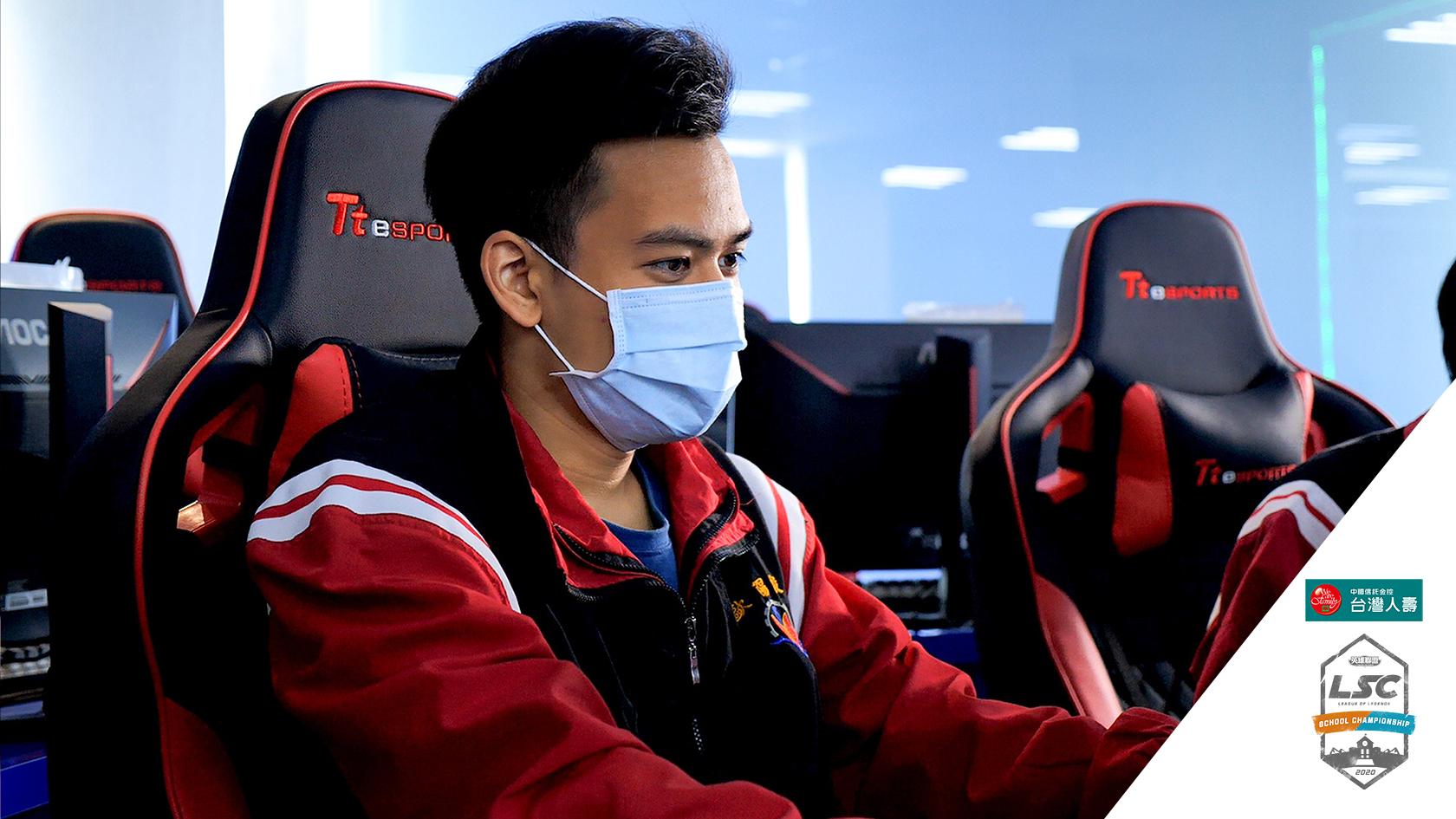 ▲連續三屆參戰LSC的謝瀚陞希望能在新賽季擊敗東泰太陽隊及青年勇士隊。