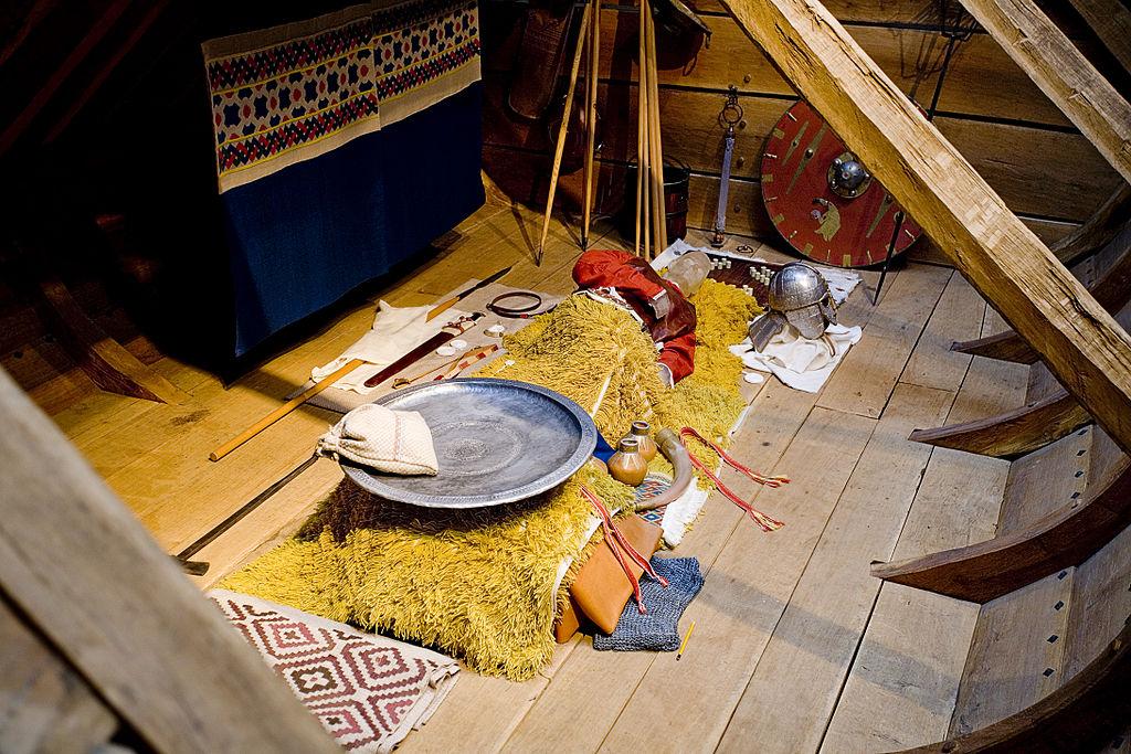 薩頓胡復刻葬船 (Photo by Gernot Keller www.gernot-keller.com, License: CC BY-SA 2.5, Wikimedia Commons提供)