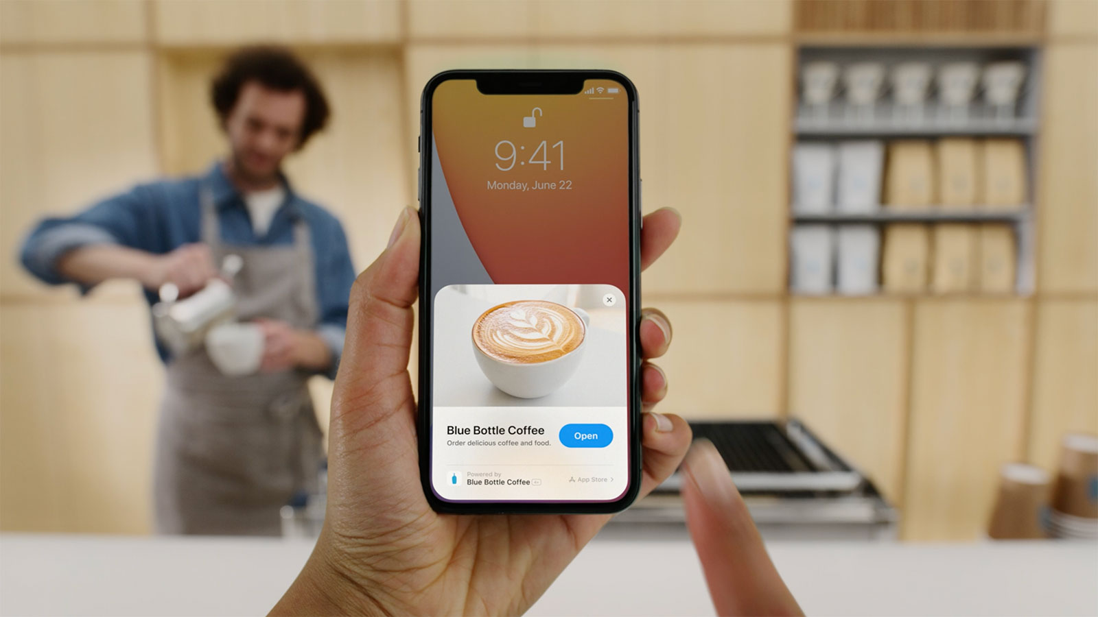 App Clip for Blue Bottle Coffee