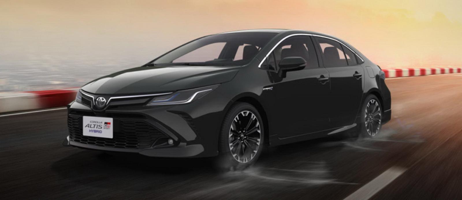 圖/在運動化車型GR Sport助陣之下,神車Toyota Corolla Altis全月銷量來到2,591輛。