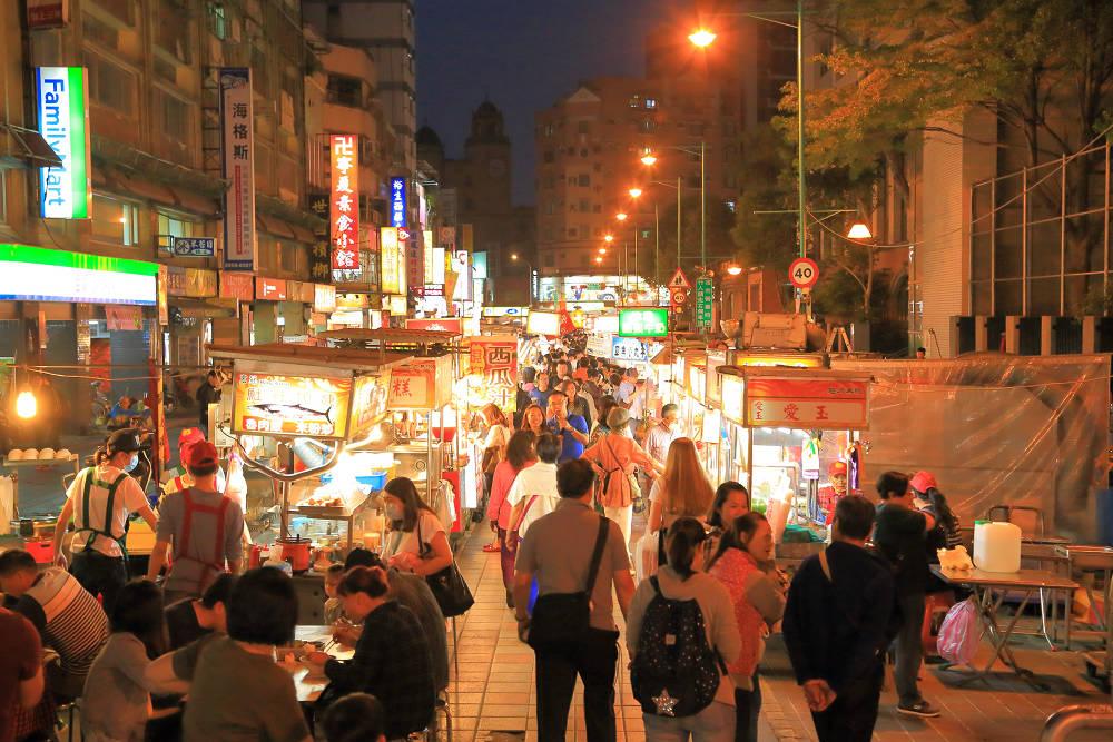 寧夏夜市(圖片來源:台北市政府)