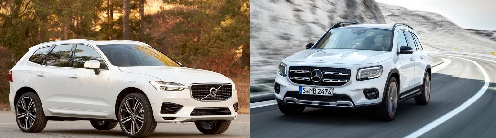 圖/Volvo XC60 D4 Momentum與M-Benz GLB 200d之運動休旅華麗對決。