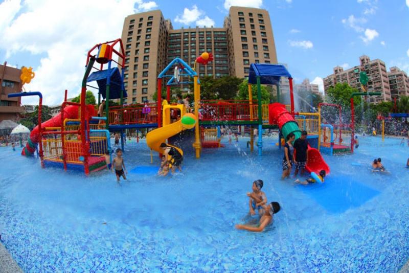 自來水園區為台北人氣玩水景點之一。(photo by 自然水園區 ,圖片來源)