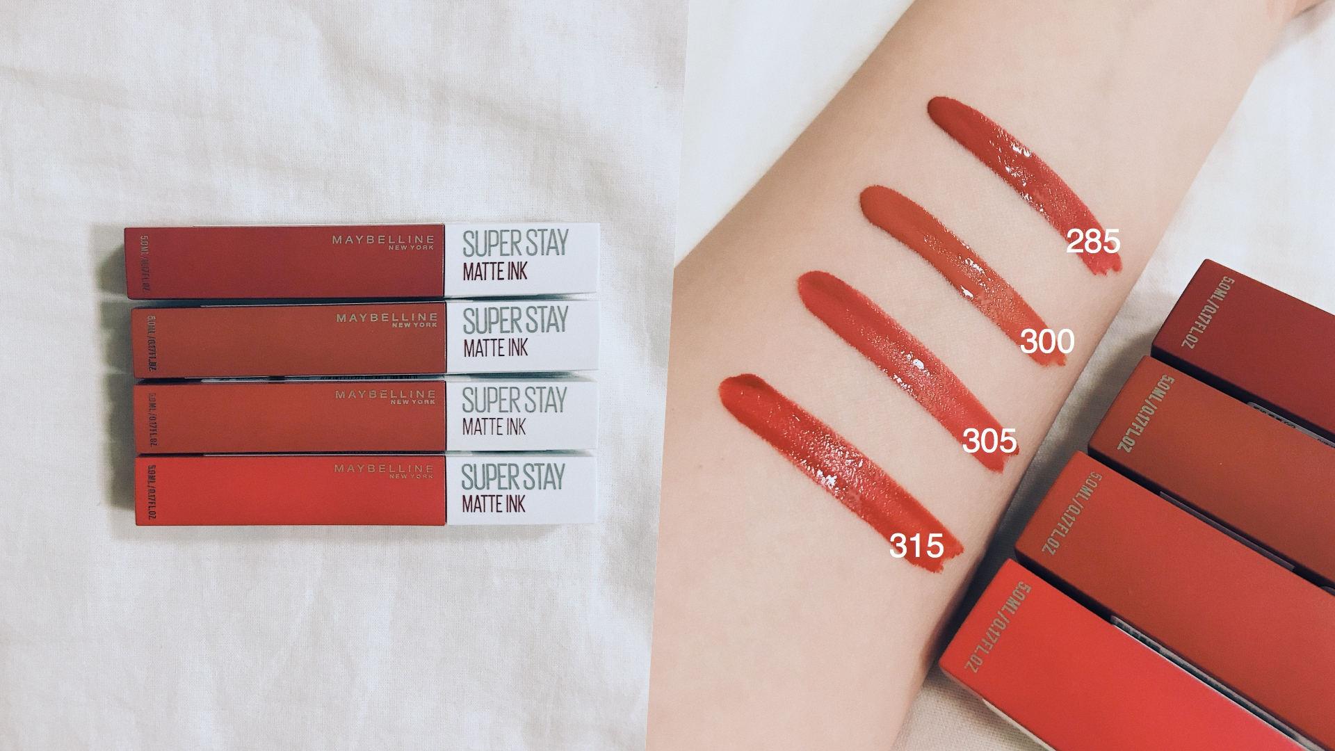 今年夏天又推出四個「小壞蛋紅」,超顯白的紅色系一擦上就看起來好性感,想要擺脫乖乖牌,擦上這支就對了!