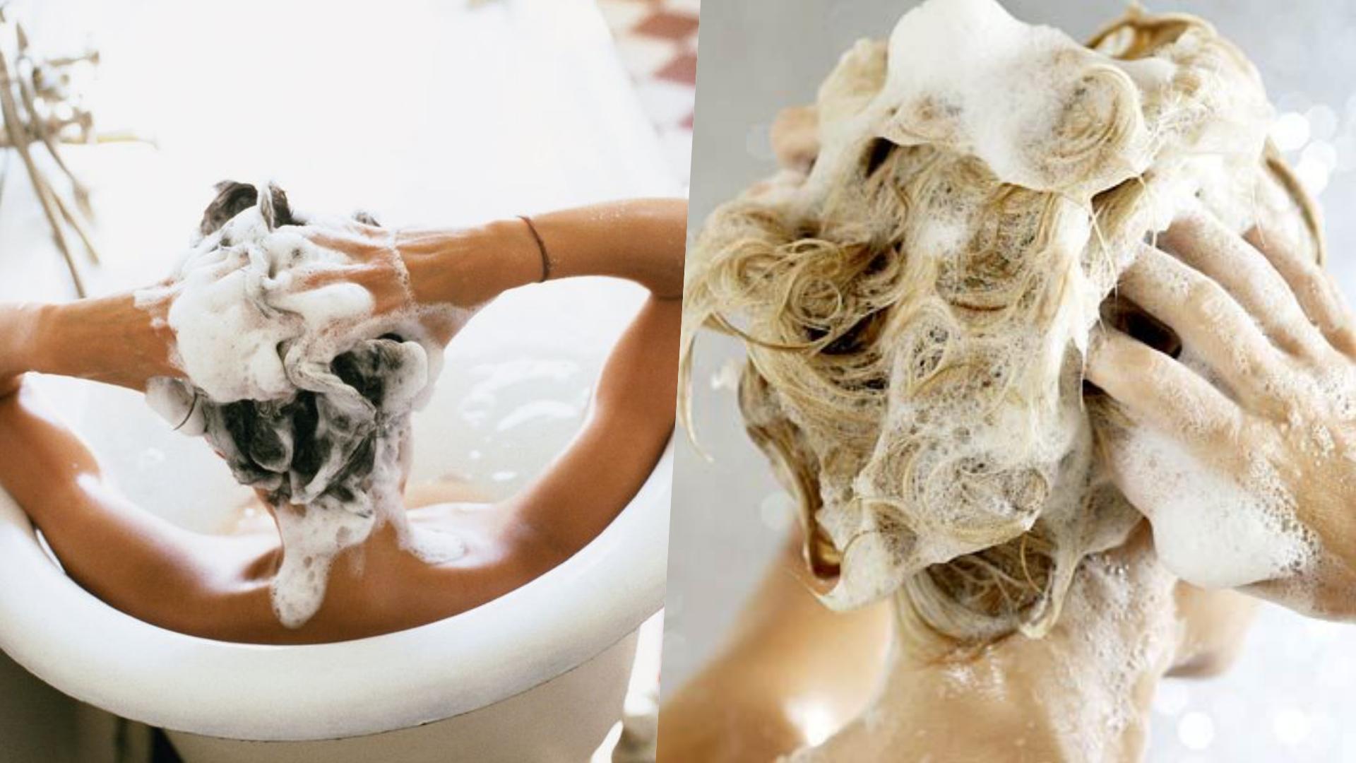 洗頭時一定要認真按摩頭皮、並且挑選不含矽靈、界面活性劑的洗髮產品,才可以溫和呵護頭皮!