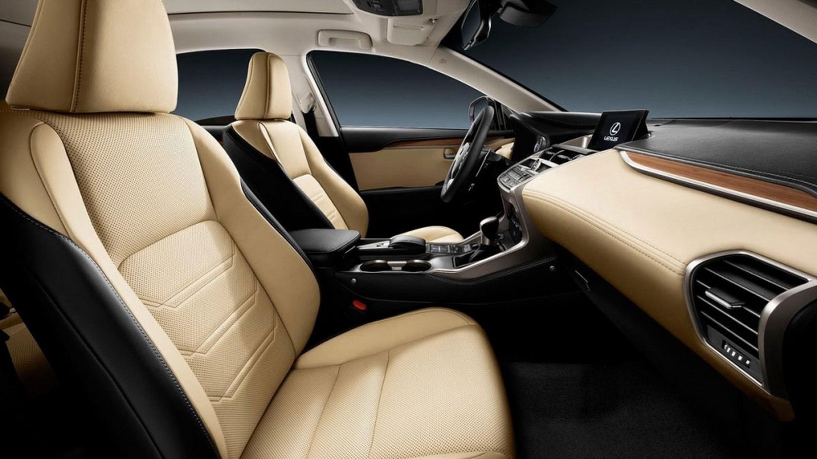 圖/NX 200展現出Lexus引以為傲的職人工藝,特別是座椅上的皮革縫線完美筆直呈現,徹底展現出精湛的手工車縫技藝。