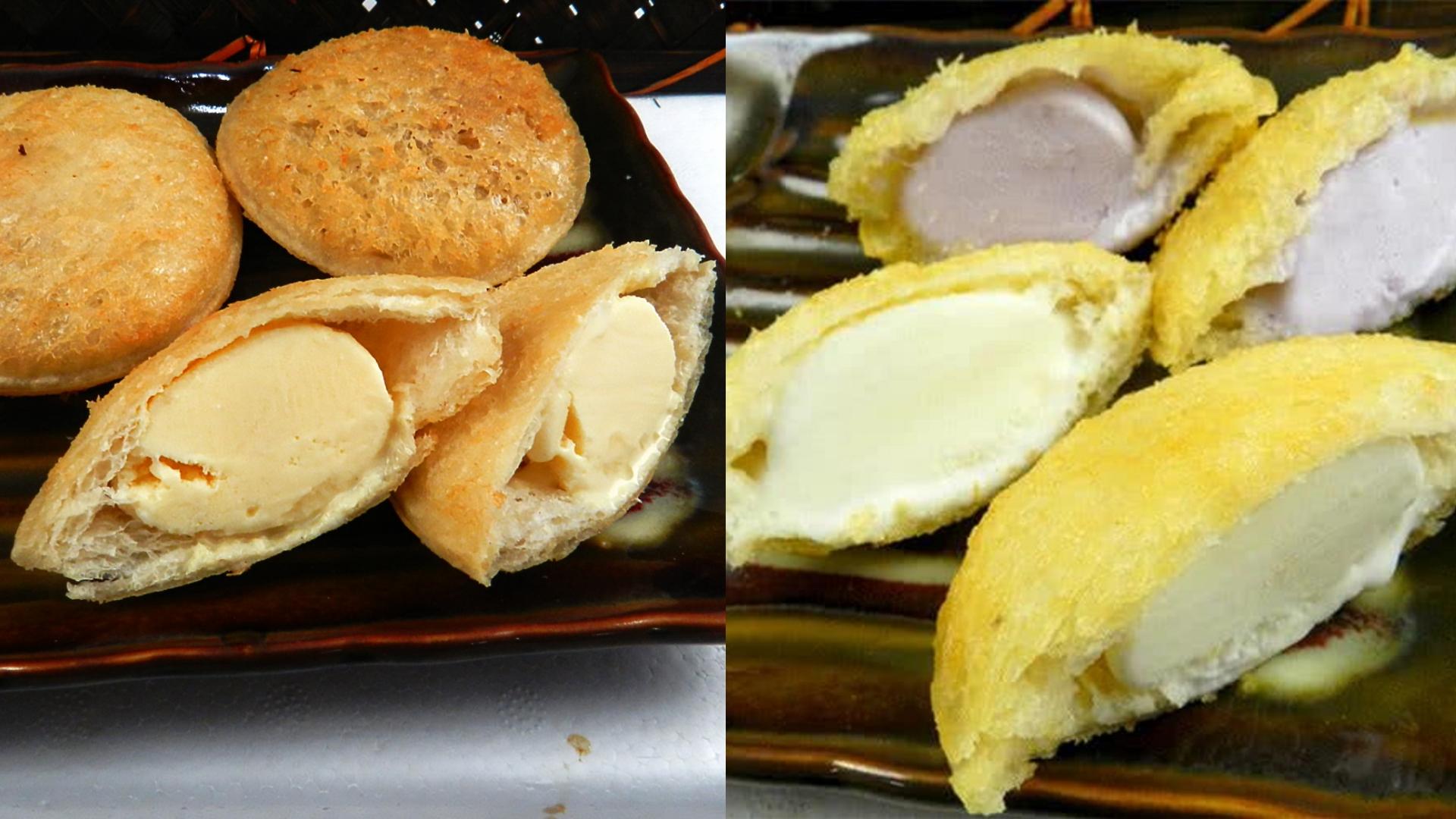 咬下去會喀滋喀滋的吐司外皮、裡面是冰冰涼涼的冰淇淋,什麼神級美食能夠一次擁有兩種口感和冷熱兩種滋味啊!