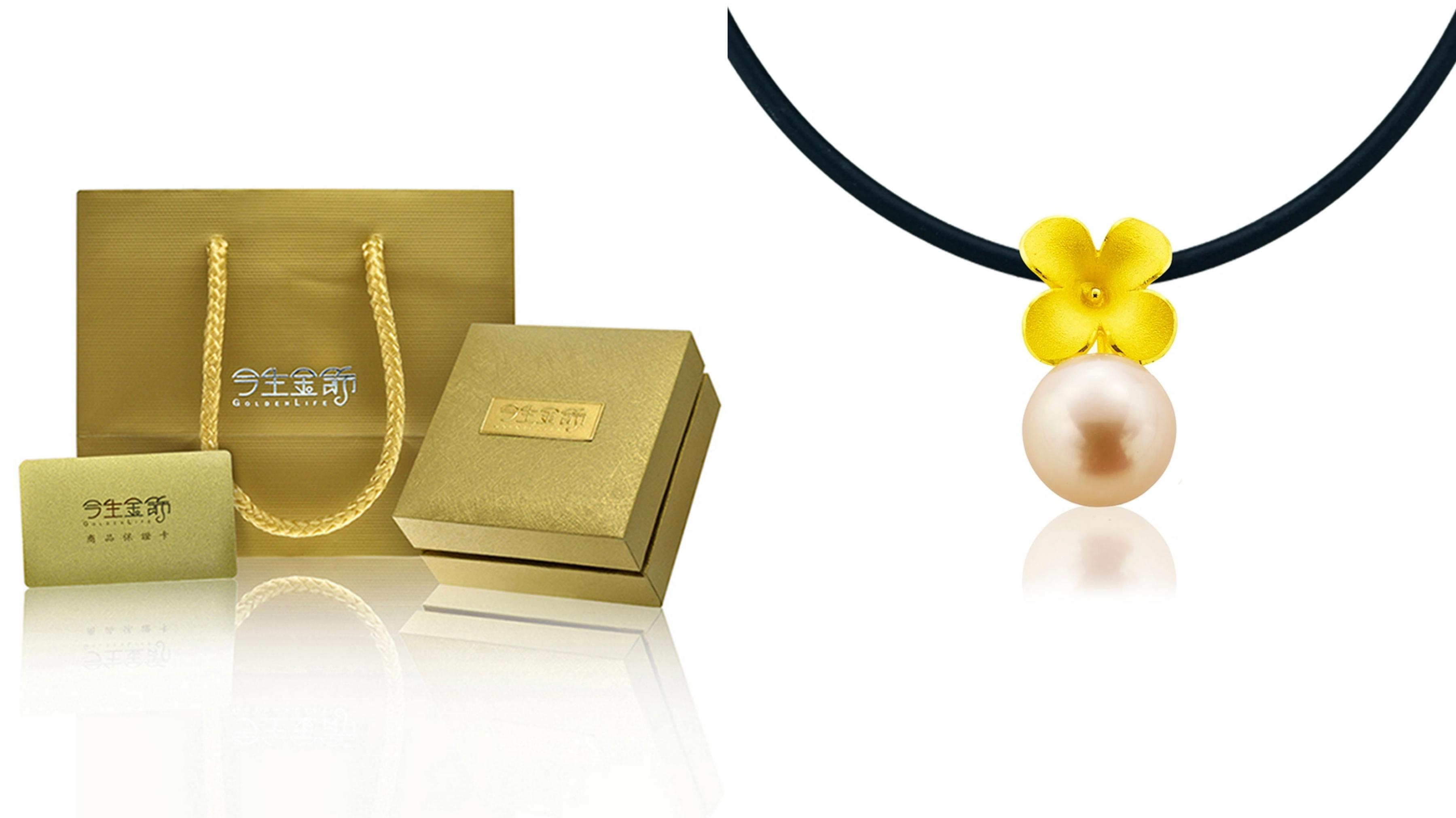 立體花朵結合柔美珍珠的時尚設計款式,最適合氣質美人